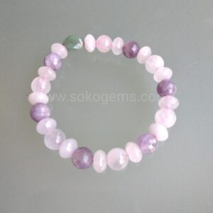 Rose Quartz & Amethyst